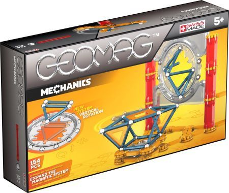 Geomag Mechanics 164 pcs