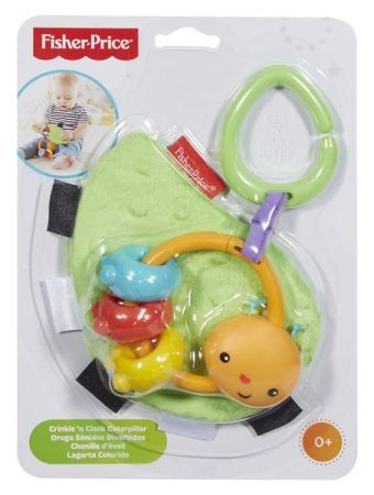 Fisher Price chrastítko housenka