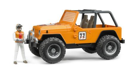 Bruder 2542 Jeep WRANGLER Cross Country Racer