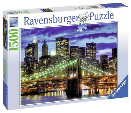 Ravensburger puzzle Mrakodrapy New York City 1500d