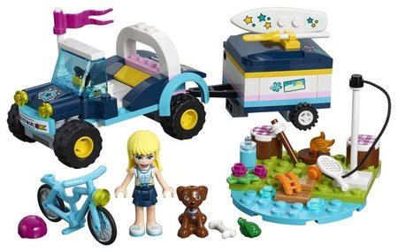 LEGO® Friends 41364 Stephanie a bugina s přívěsem