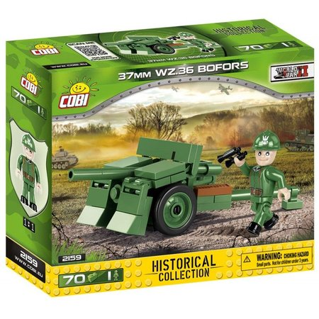 Cobi 2159 Small Army Bofors 37 mm vz.36, 70 k, 1 f