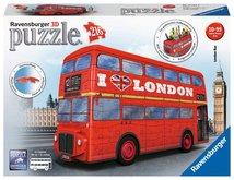 RAVENSBURGER 3D puzzle Londýnský autobus Doubledecker 216 ks