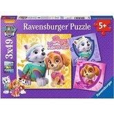 Puzzle Ravensburger Tlapková Patrola 3x49 dílků