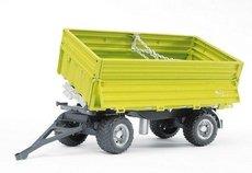 Bruder 2203 Sklápěcí vůz FLIEGL třístranný zelený