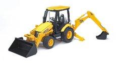 Bruder 2427 Traktor JCB MIDI čelní nakladač + lžíce