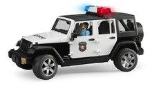 BRUDER 2526 Jeep Wrangler Policie s figurkou policisty