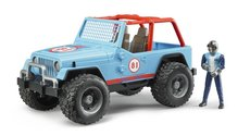 Bruder 2541 Jeep WRANGLER Cross Country Racer