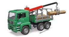 Bruder 2769 Nákladní auto MAN - přepravník dřeva