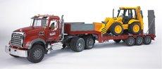 Bruder 2813 MACK Granit návěs s traktorem