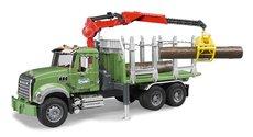 Bruder 2824 MACK Granit na přepravu dřeva