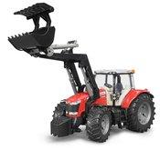Bruder 3047 Traktor Massey Ferguson + čelní nakladač