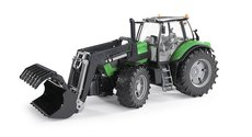 Bruder 3081 Traktor DEUTZ Agtrotron + čelní nakladač