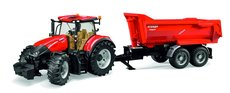 Bruder 3199 Traktor Case IH Optum 300 CVX s přívěsem Krampe
