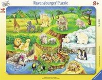 Ravensburger Puzzle ZOO rámové 8 17d