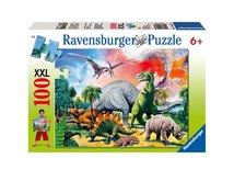 Puzzle Ravensburger Mezi dinosaury 100 XXL