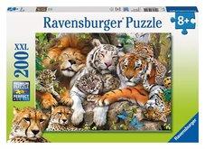 Ravensburger puzzle  Velká kočka 200 dílků