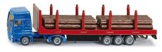 SIKU Blister Kamión se dřevem 1:87