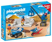 Playmobil 6144 Super Set Stavba