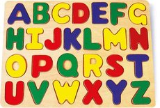 Legler Didaktická skládačka puzzle abeceda