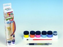 Barvy na keramiku a sklo