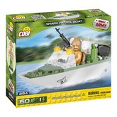 Cobi 2154 Small Army Patrolovací člun Shark, 60 k, 1 f