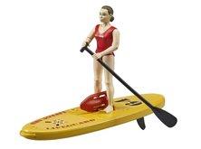 Bruder 62785 Bworld Záchranářka s paddleboardem