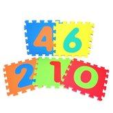 Wiky Měkké puzzle bloky - číslice 30 cm