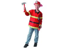 MaDe Šaty na karneval - hasič, 110 - 120 cm
