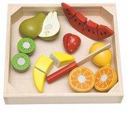 Woody Ovoce s melounem na prkénku