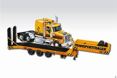 Stavebnice Monti 46 Transport Trailer Western Star 1:48