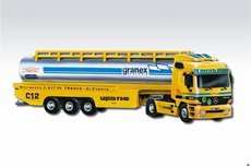 Stavebnice Monti 55 Liguid Food Actros L-MB 1:48