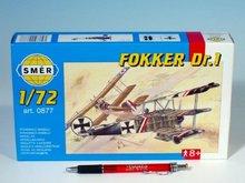 Letadlo Fokker DR.1 1:44