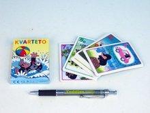 Kvarteto Krtek 1 společenská hra - karty v papírové krabičce