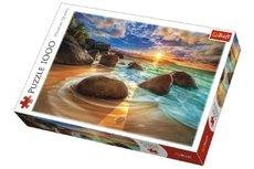 Trefl Puzzle Pláž Samudra, Indie 1000 dílků v krabici 40x27x6cm