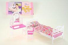 Glorie Postel + toaletka pro panenky