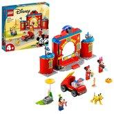 LEGO® Disney™ 10776 Hasičská stanice a auto Mickeyho a přátel