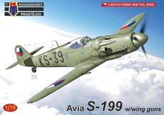 Kovozávody Prostějov Avia S-199 w/with guns