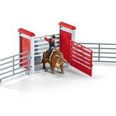 Schleich 41419 Kovboj na býku v ohradě