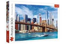 Trefl Výhled na New York 48 x 34 cm v krabici 40 x 26,5 x 4,5 cm 500 dílků