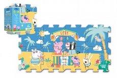 Trefl Pěnové puzzle Prasátko Peppa 32x32cm 8ks v sáčku